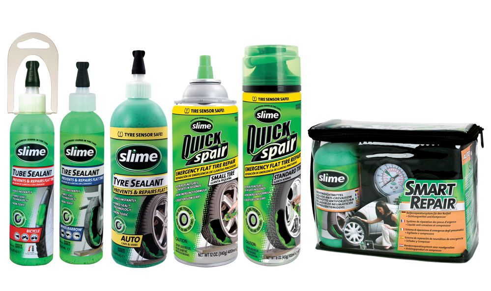 Slime Tire Sealant Products Review – 5 Best Tire Sealant Products 2019